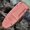 "Bark River Knives Little Creek BA01061MBU, 2.5"" CPM CruWear Blade, Burgundy Canvas Micarta Handle"