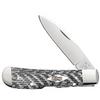 Case Tribal Lock 38928 Black and White Fiber Weave Handle (TB10112010L SS)
