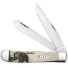 Case Sportsman Series Trapper 60577 Smooth Natural Bone Handle (6254 SS)