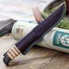 "Helle Torodd HE652, 4.21"" Triple Laminated SS Polish Blade, Dark Oak Handle"