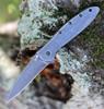 """Kershaw 1660CBBW Leek 3"""" Composite Blackwash Blade, 41 Stainless Steel Blackwash Handle"""