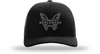 Benchmade Favorite Trucker Hat, Black/Black Mesh One Size