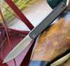 "Civivi Exarch C2003DS1, 3.22"" Damascus Blade, Twill Carbon Fiber Overlay / G10 Handle"