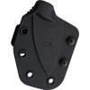 """Ka-Bar TDI Investigator KA1493, 2.75"""" Black AUS-8S Plain Blade, Nylon Handles, Black Kydex Sheath"""