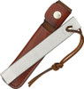 """Schrade Old Timer SCHHS1 Honesteel, 7.125"""" Sharpening Steel, Leather Lanyard and Sheath"""