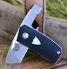 "Benchmade 602 Tengu Tool, 1.14"" CPM-20CV Tanto Blade, Black Contoured G-10 Handle"