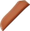 "Large Leather Belt Sheath, Fits 7-8"" Blades"