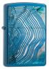 Zippo 29827 Tree Ring Design, High Polished Blue Lighter