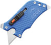 Outdoor Edge Slidewinder Razor Blade Mulit-Tool, Blue