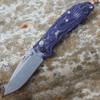 Doug Ritter Mini-RSK®  MK1-G2 Knifeworks Exclusive - Mascus Puple G-10/ Tumbled Finish