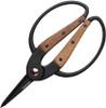 BareBones Living Small Scissors, Walnut Handles