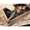 "Barebones Living Hori Hori Classic, 6.75"" 4CR13 Black Stonewash Blade, Walnut Handle"