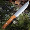 "Bark River Knives Bravo 1.5 Field, 5.8"" CPM-3V Plain Blade, Natural  Canvas Micarta Handle"