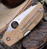"Spyderco Chaparral Birdseye Maple C152WDP, 2.79"" CTS XHP Plain Blade, Wood Handle"