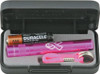 Mag-Lite Solitaire Flashlight 1 AAA Cell Breast Cancer Hot Pink (2 Lumens)