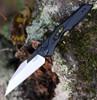 "Kershaw 7650 Launch 13, 3.5"" CPM154 Black DLC/Satin Wharncliffe Blade, Aluminum Handle"
