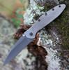 "Kershaw 1660GRY Leek, 3"" Sandvik 14C28N Gray Plain Blade, Gray 410 SS Handle"