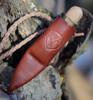 "Condor Otzi Knife CTK3922-2.2, 2.375"" 1095 HC Spear Point Blade, Hickory Wood Handle"