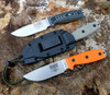 "ESEE-4P35V-002,  4.5"" S35VN Plain Blade, Gray/Black G10 3D Handle, Black Sheath"