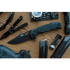 "SOG Seal XR Clip Point 12-21-02-57, 3.9"" S35VN Black Cerakote Plain Blade, Black GRN Handle"