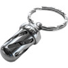 LionSteel Acorn Dice Stainless Steel Keychain - Set of 2