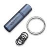 CIVIVI Key Bit C20048-1 - Blue Titanium Body, Steel Torx Screwdriver Tool Set (T6 + T8) Key Ring