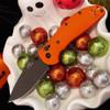 "Doug Ritter Sprint Run RSK® Mk1-G2 - Orange G-10 (3.4"" CPM 20CV Blk) Knifeworks Exclusive"