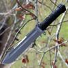 "Kizlyar Supreme KK0078 Survivalist Z, 7.25"" D2 Combo Blade, Dural Handle, Nylon Sheath"
