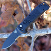 Benchmade 4400SBK CASBAH Auto, 3.4 in CPM-S30V Black Combo Blade, Black textured Grivory Handles