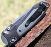 Benchmade 590 BOOST, CPM-S30V Plain Blade, Dark Gray Grivory Handles