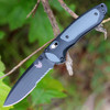 """Benchmade BM590SBK BOOST, 3.7"""" CPM-S30V SS Combo Blade, Grivory Handle"""