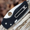 "Spyderco C230GS Lil' Native, 2.5"" CPM S30V Serrated Blade, Black G-10 Handle"