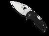 "Spyderco C230MBGP Lil' Native, 2.5"" CPM S30V Plain Blade, Black G-10 Handle"