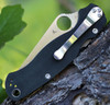 Spyderco C81GPLE2 Para Military 2 Left Handed, CPM S30V Plain Blade, G-10 Handle