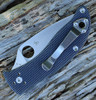 """Spyderco Alcyone G-10 Gray C222GPGY, 2.91"""" CTS BD1 Plain Blade"""