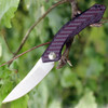 Zero Tolerance 0462 Sinkevich Flipper Knife, 3.75 in CPM-20CV Plain Blade, Carbon Fiber Handle