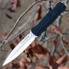 "Benchmade 133 Fixed Infidel, 4.52"" D2 Plain Blade, Black Anodized Aluminum Handle"