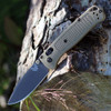 """Benchmade 535GRY-1 Bugout, 3.24"""" CPM-S30V Plain Gray Blade, Ranger Green Grivory Handle"""
