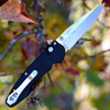 Benchmade Emissary Axis-Assist Folder 470-1, 3.00 in. S30V Stainless Blade, Plain Edge