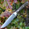 "Bark River 02250MGC Wilderness Explorer, 5.75"" CPM Cru-Wear Plain Blade, Green Canvas Micarta Handle"