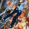 "CRKT 9201 Technician, 2.58"" 5Cr15MoV Plain Blade, Black G-10 Handles"
