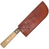 Condor Kondoru Nakkiri Knife CTK5001-7.0 , 7.0 in. 1095 High Carbon Steel, Hickory & Walnut Handle