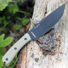 ESEE 6HM, Black Plain Edge, Modified Canvas Handles, Kydex Sheath