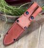"""Bark River 07112GMSC Bravo I, 4.25"""" A-2 Plain Blade, Mil Spec Camo G-10 Handle"""