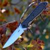 """Zero Tolerance 0640 Ernest Emerson, 3.75"""" CPM 20CV Plain Blade, Titanium/ Carbon Fiber Handle"""