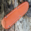 "Bark River Highland Special 01-114M-GC, 3.875"" A2 Steel, Green Canvas Micarta Handle"