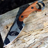 Tops Knives, C.U.T. 4.0 Camo Combat Utility Tool, Joshua Swanagon Karambit Style Fixed Blade