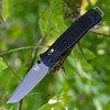 """Benchmade Bailout 537GY, 3.38"""" CPM-3V Tanto Blade, Black Grivory Handle"""