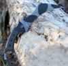"""TOPS Tac-Tops Karambit TAC-01C, 7.13"""" 1095 Camo Rocky Mountain Karambit Blade, Micarta Handle"""