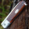 "Fallkniven GPdi Gentleman Pocket Knife Desert Ironwood, 3.07"" Lam.Cos Satin Blade"